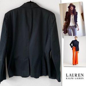 Ralph Lauren Jackets & Coats - LAUREN RALPH LAUREN BLACK STRETCH BLAZER SZ 10
